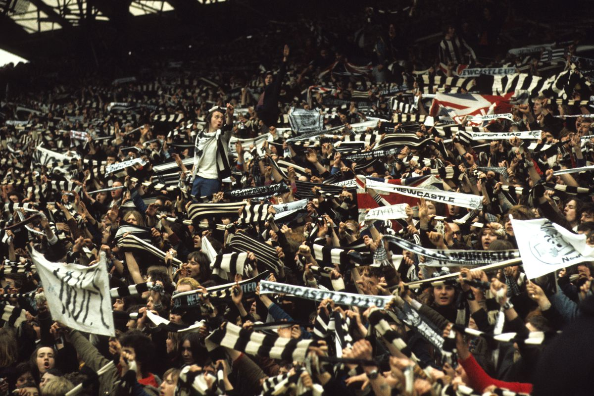 Soccer - Newcastle United Parade The Inter-Cities Fairs Cup - St James' Park