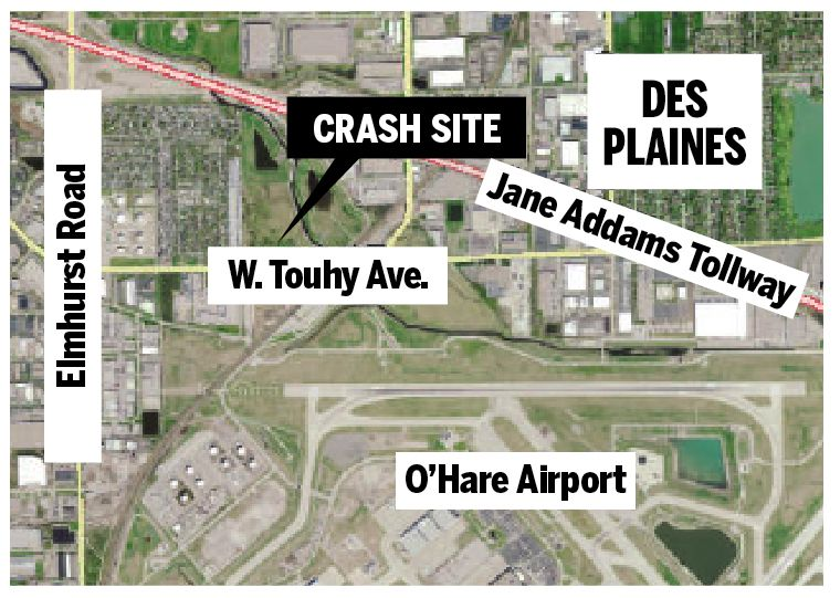 O Hare Western Access Tollway Planned For Field Where Flight 191 Crashed 40 Years Ago Chicago Sun Times