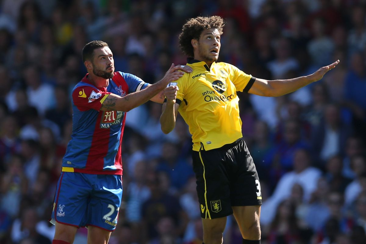 Striker Rudy Gestede has enjoyed tons of service this year — but Villa's attack isn't quite clicking yet.