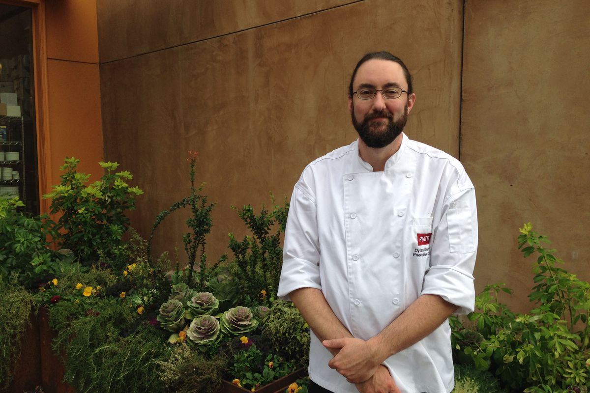 Chef Dylan Giordan in at Piatti in the U District - Eater Seattle