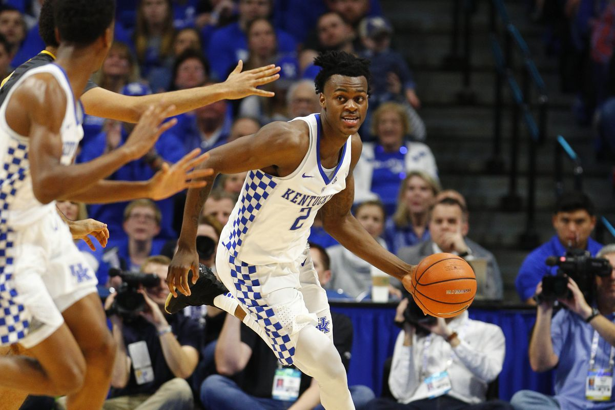 save off 1752f 09cbb How will Jarred Vanderbilt injury affect Kentucky Wildcats in the NCAA  Tournament