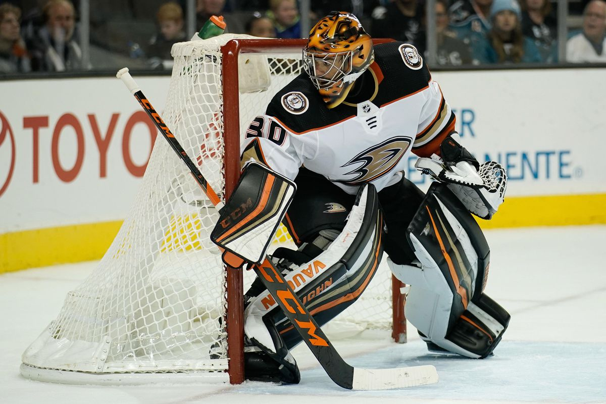 ducks sharks morning thoughts ryan miller is good but