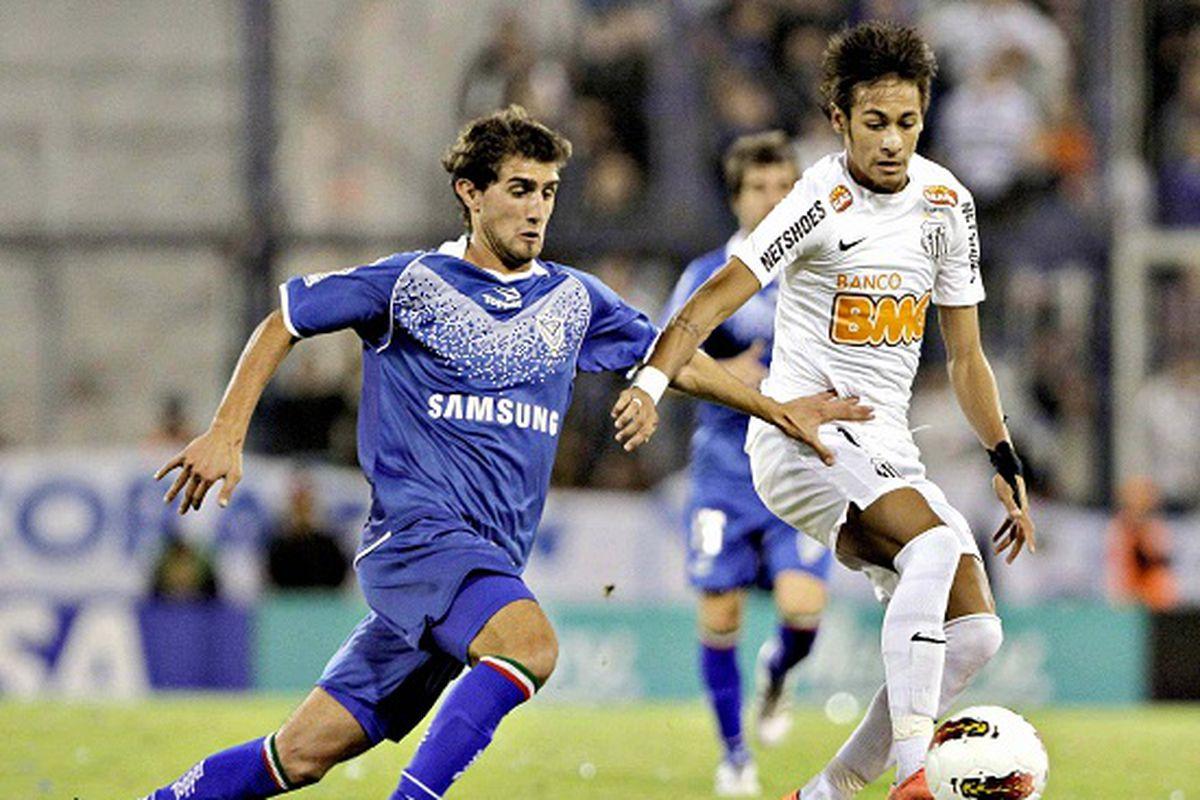 Gino Peruzzi and Neymar