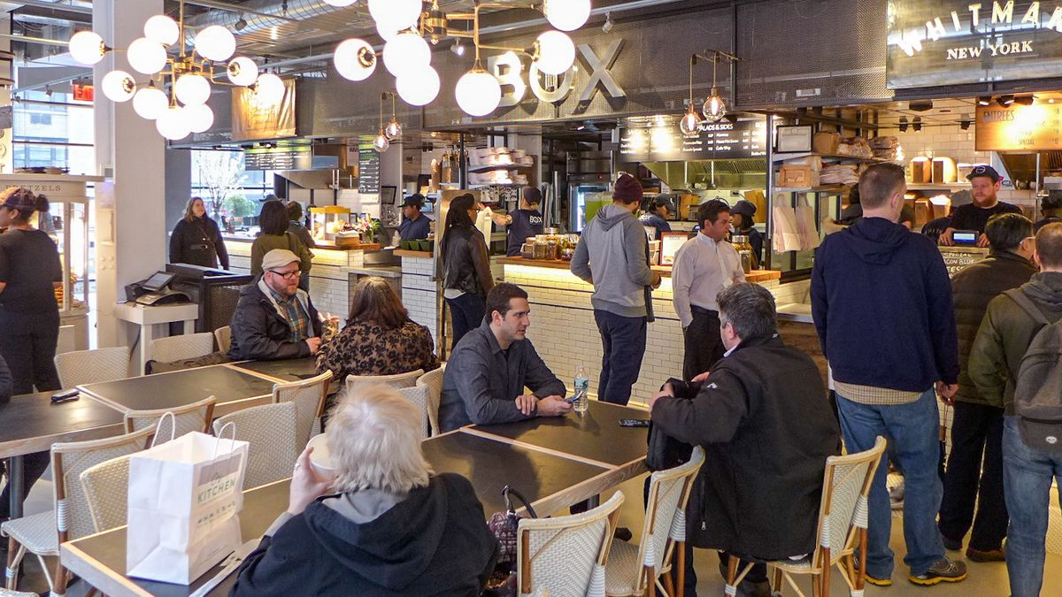 blitzing through city kitchen times square s newest food court