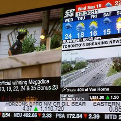No, it's not really cold in Toronto -- those temperatures are in Celsius