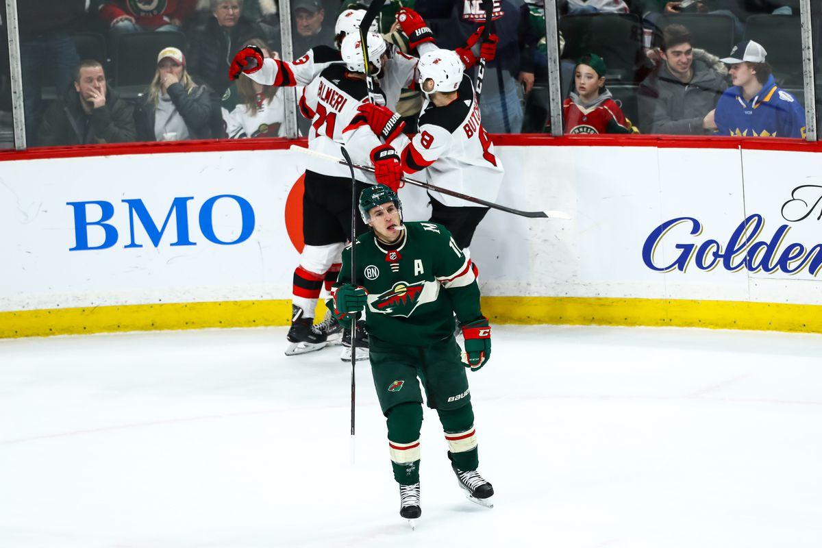 NHL: New Jersey Devils at Minnesota Wild