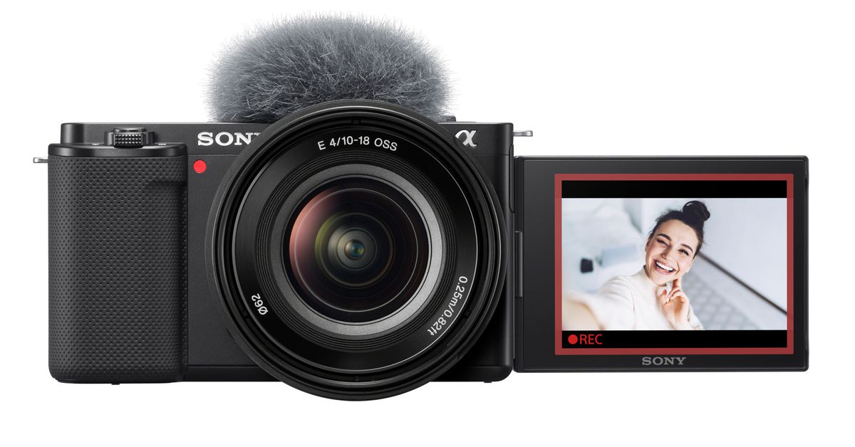 The Sony ZV-E10 is an E-mount camera for vloggers