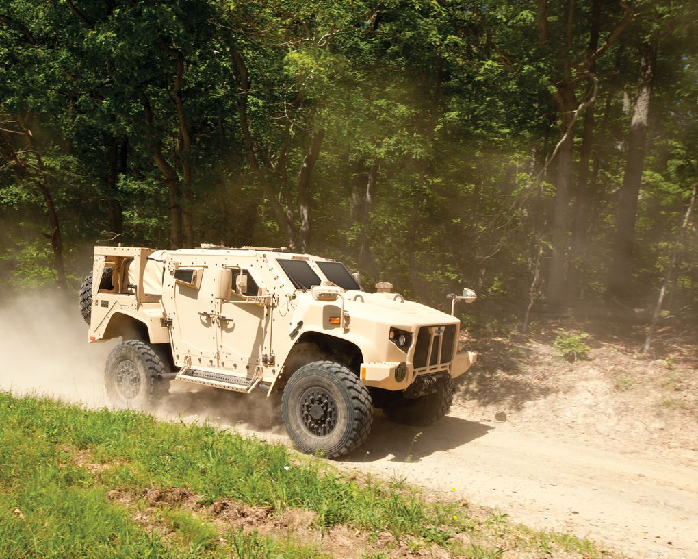 Here is the badass truck replacing the US military's aging Humvees ...