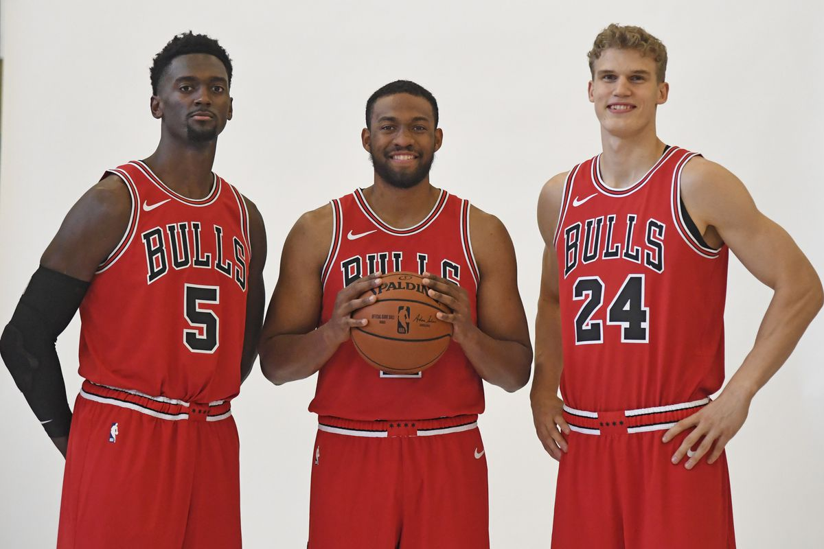 7951382cd6d The most interesting thing everybody said at Chicago Bulls media day - Blog  a Bull