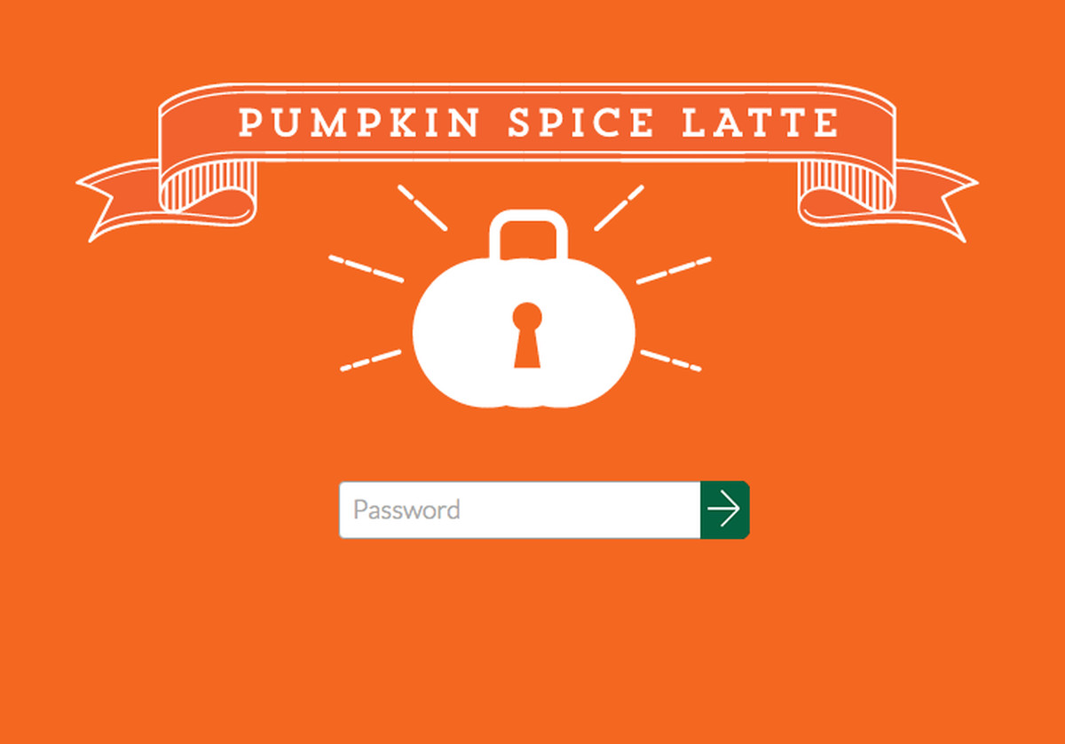 pumpkin passwort
