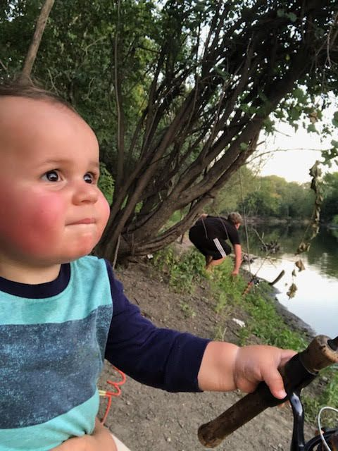 Teaching fishing young. Provided by Jason Fox