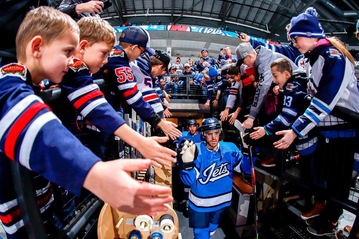 New Jersey Devils v Winnipeg Jets