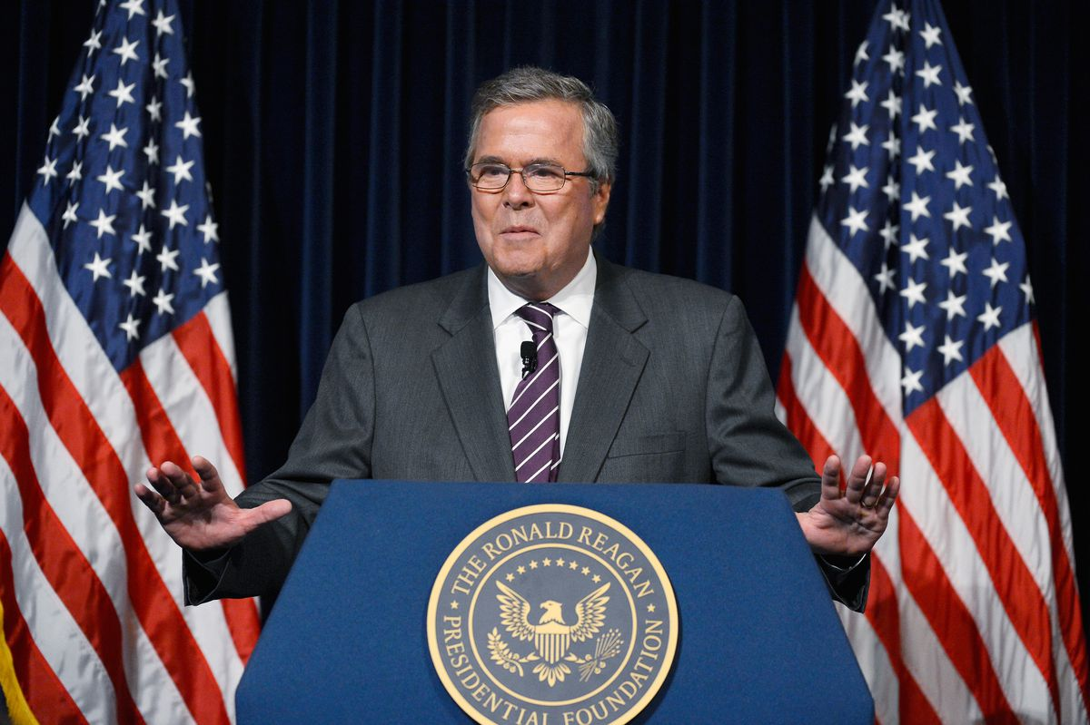 Jeb Bush's vacuous foreign policy speech was the perfect
