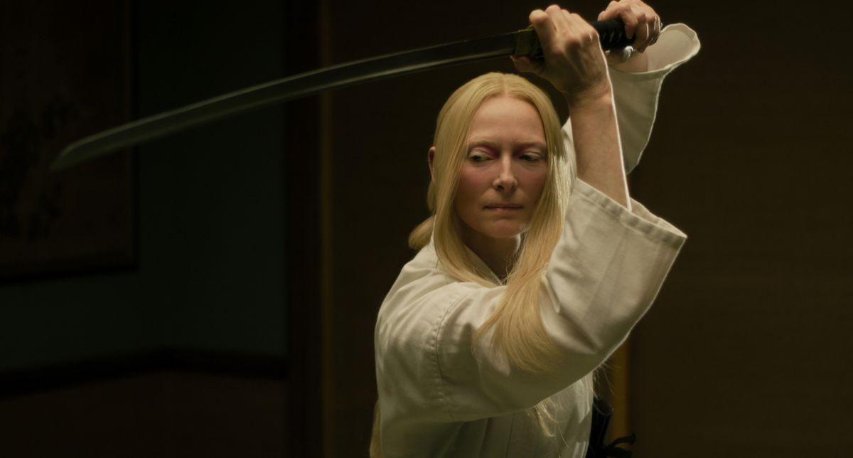 Tilda Swinton in The Dead Don't Die.
