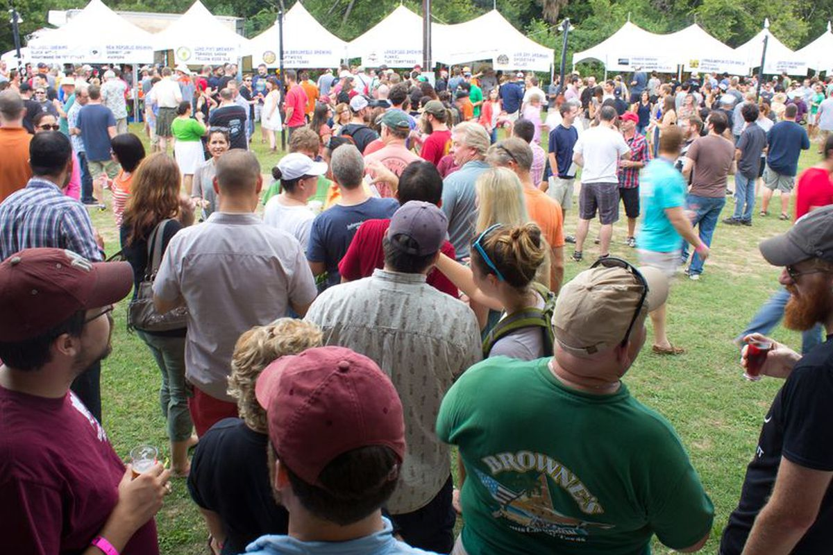 Texas Craft Brewers Festival in 2014