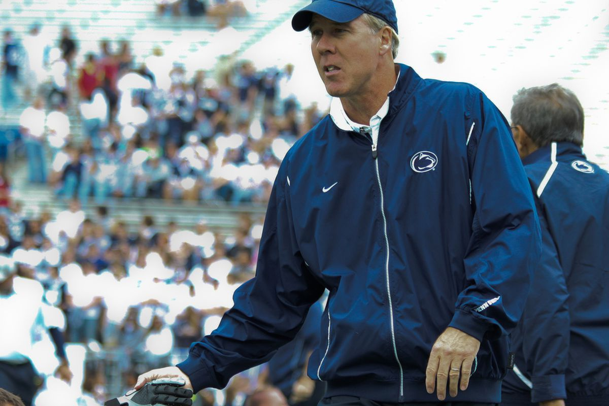 """Vanderlinden is now one of three assistants to remain on the Penn State staff, joining Larry Johnson Sr. and John Thomas. (Photo: <a href=""""http://www.flickr.com/photos/mikepettigano/5515727267/in/photostream/"""">Mike Pettigano</a>"""