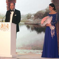 The final activity of their first day was a Gala Dinner, where they schmoozed with various Bollywood stars.