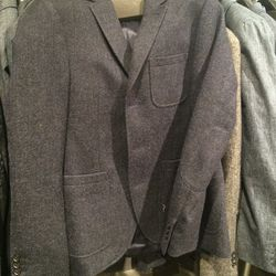 Wool suit jacket, size 40, $149 (was $545)