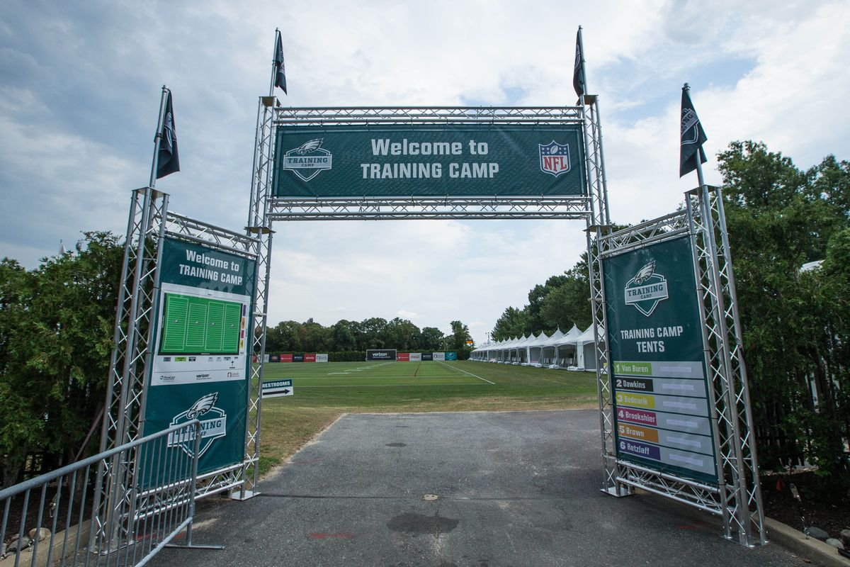 Eagles announce 2017 training camp schedule