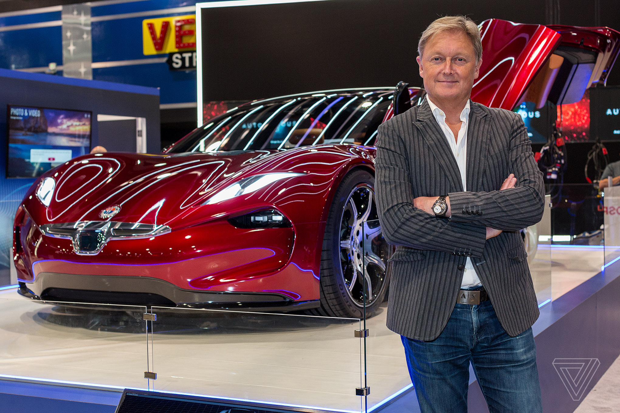 Fisker S Autonomous Emotion Electric Car Promises 400