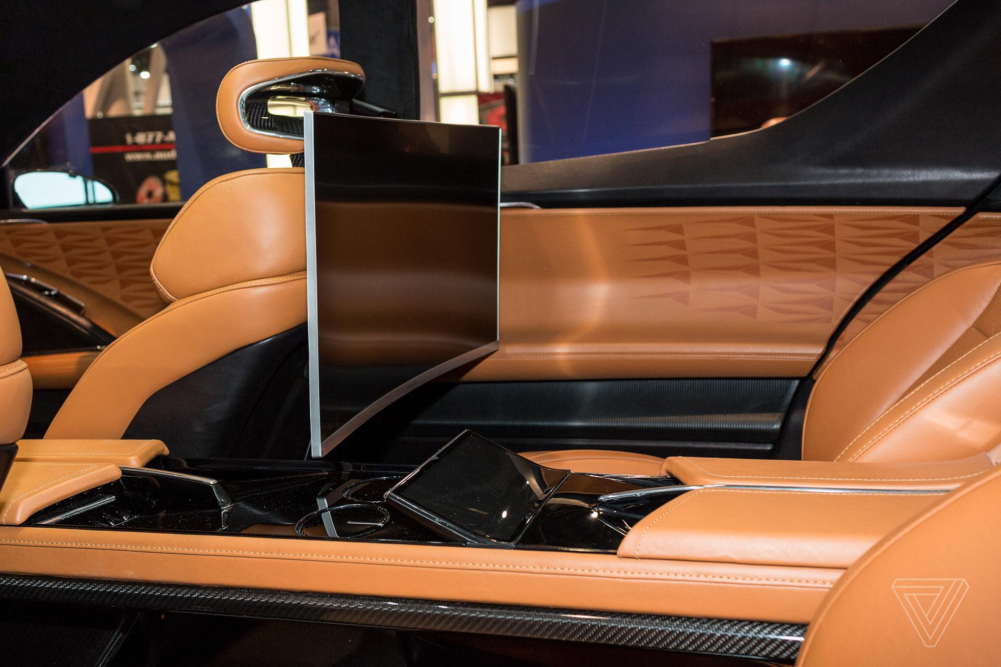 Fisker S Autonomous Emotion Electric Car Promises 400