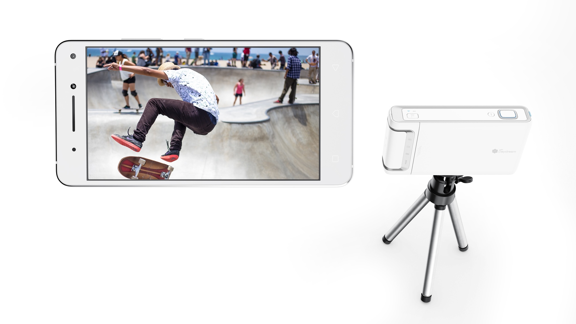 Lenovo Mirage Camera for YouTube VR streaming