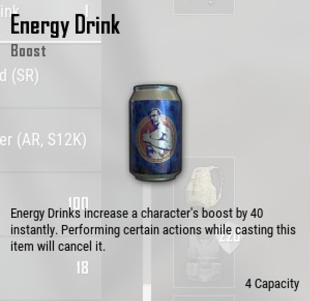 Crate Of Energy Drinks