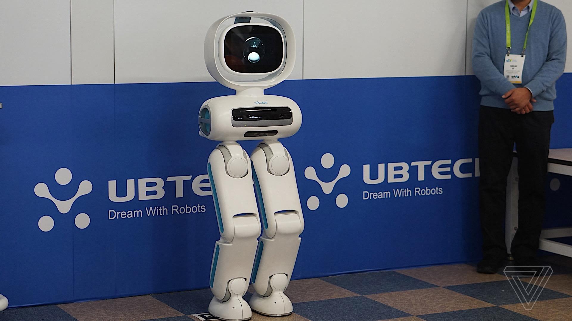 Image result for Ubtech Robotics Walker