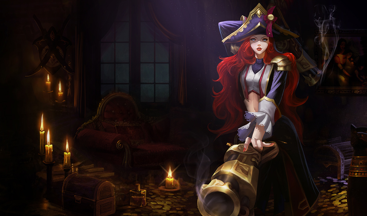 Miss Fortune Is Getting Updated Skin Splash Art And Theyre Saucy