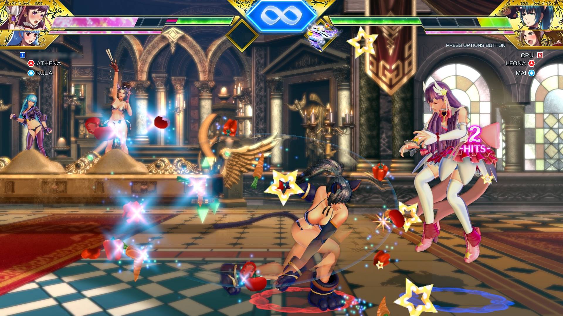 SNK Heroines: Tag Team Frenzy throwing down on Nintendo Switch