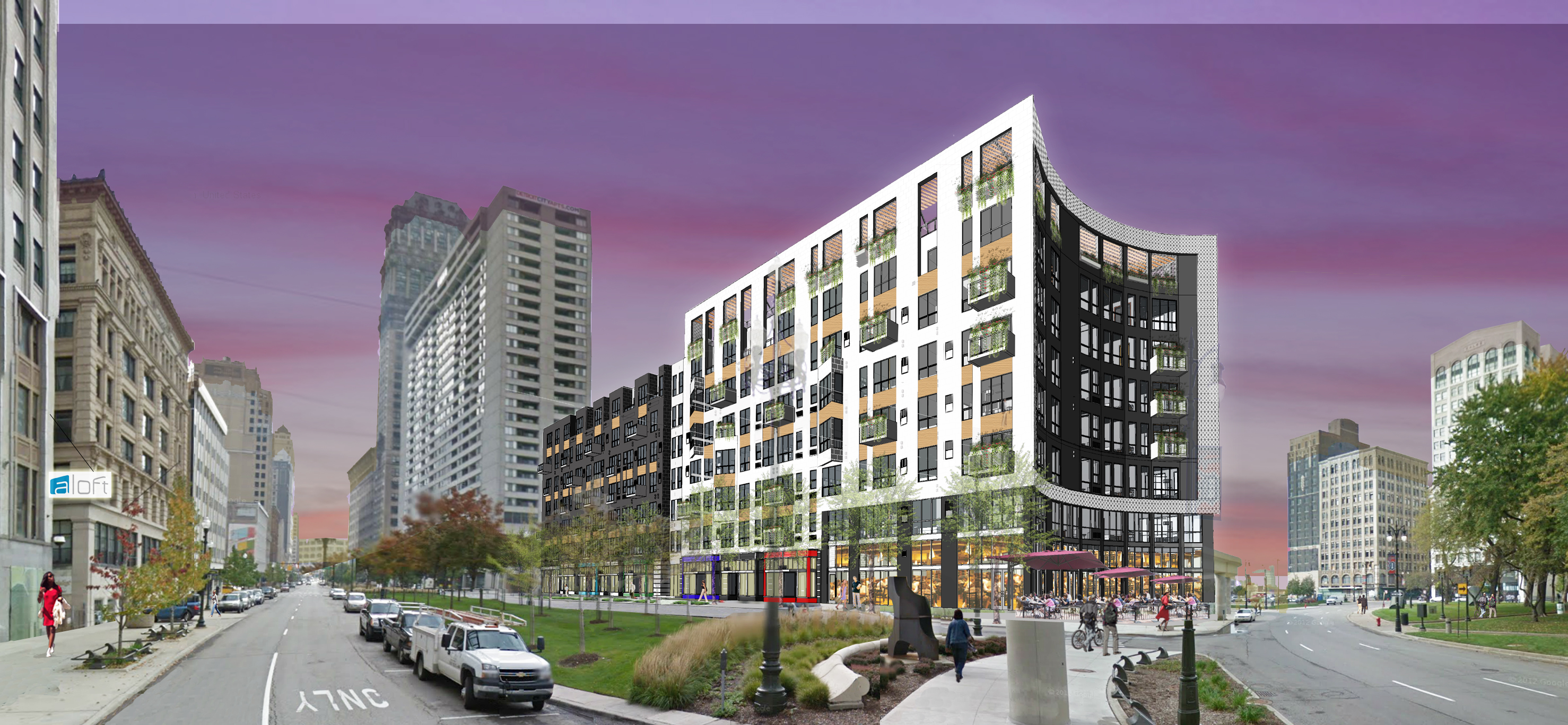 City Club Apartments Officially Breaks Ground At Site Of