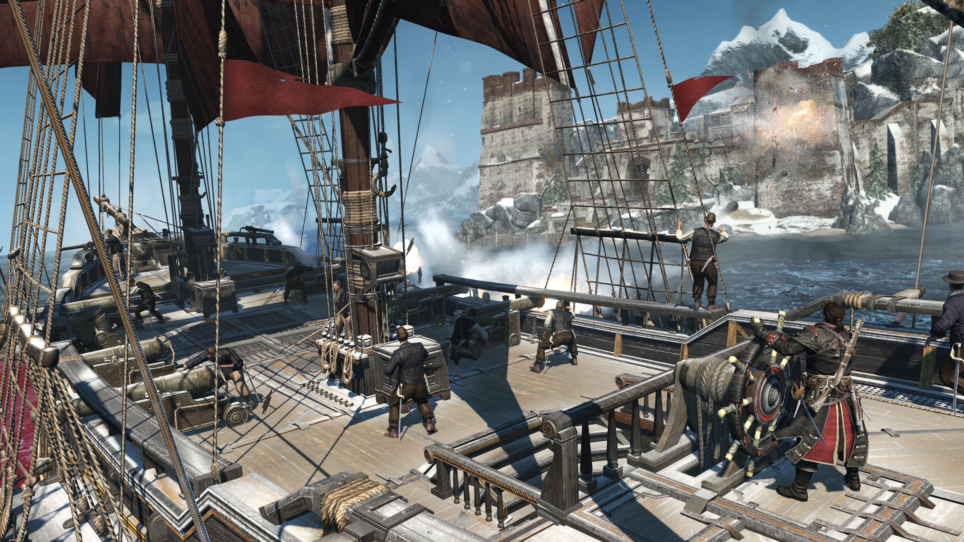 Assassin's Creed: Rogue hits PS4 and Xbox One in March