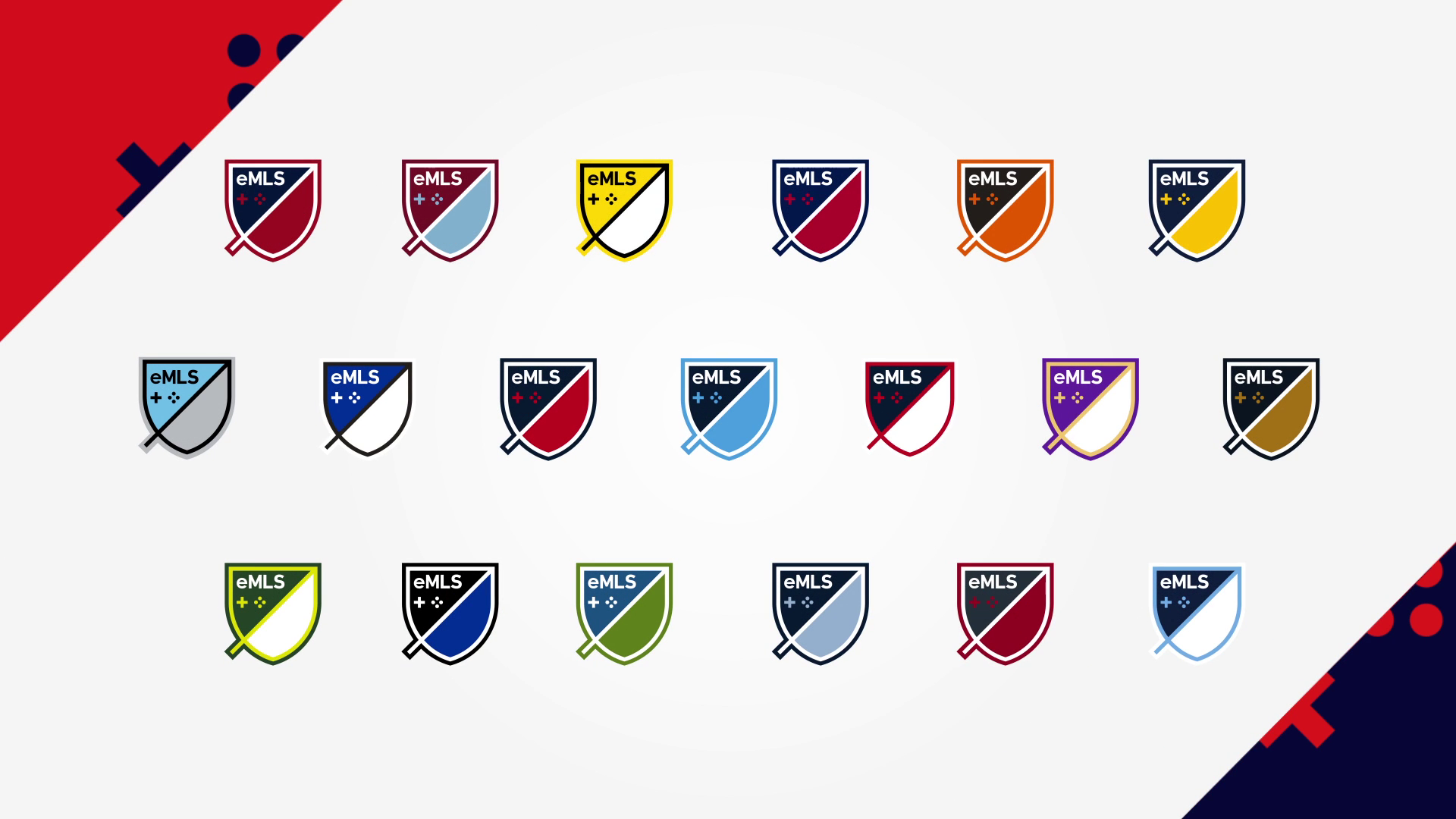 FIFA 18 eMLS - club logos
