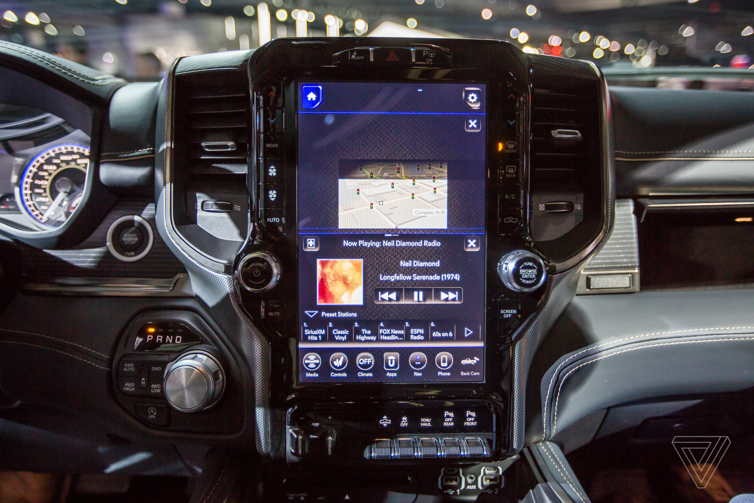 The New 2019 Ram 1500 Has A Massive 12 Inch Touchscreen Display Dodge 2500 Dash Removal 1 Of 31