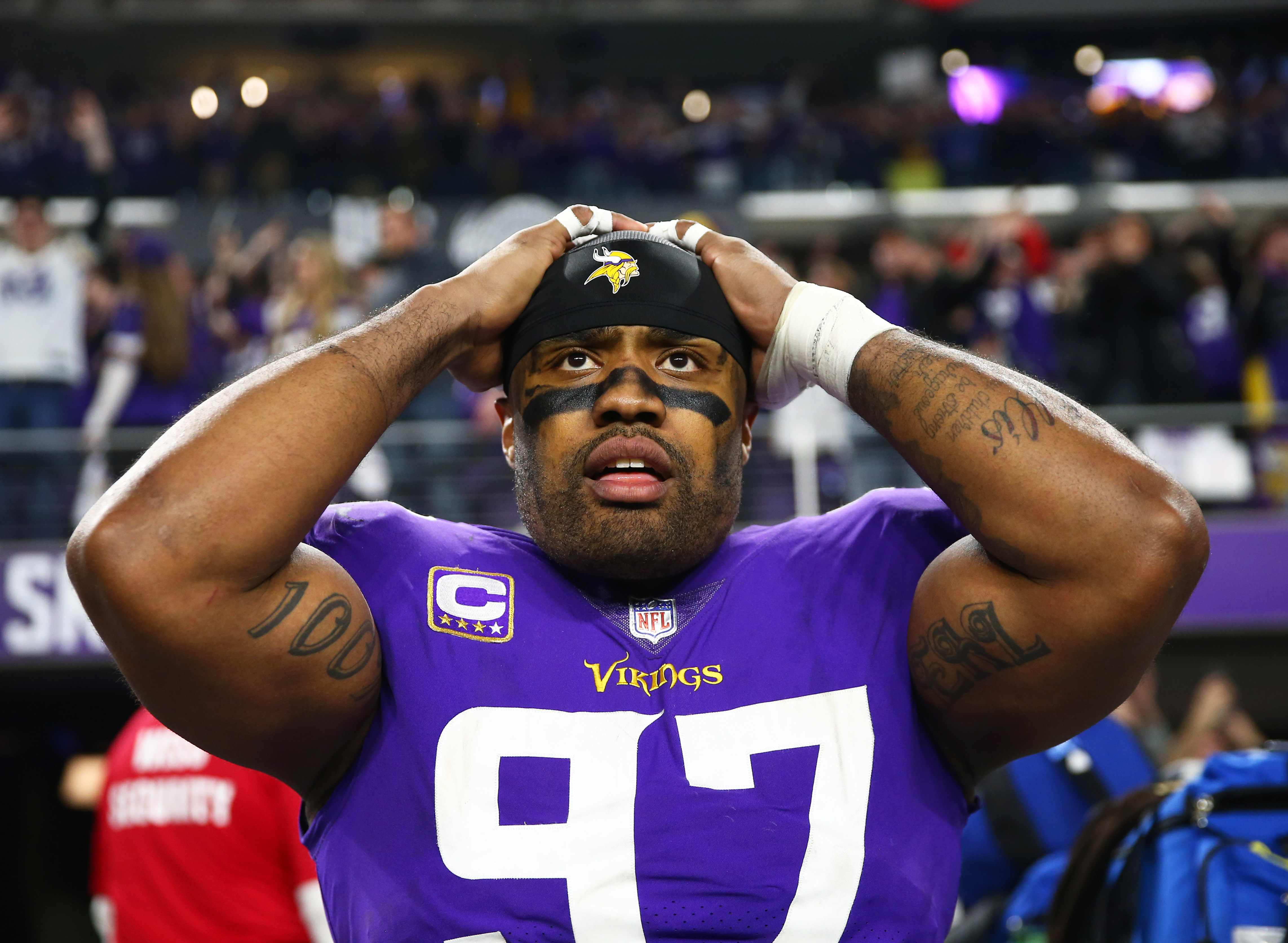 NFL: NFC Divisional Playoff-New Orleans Saints in Minnesota Vikings
