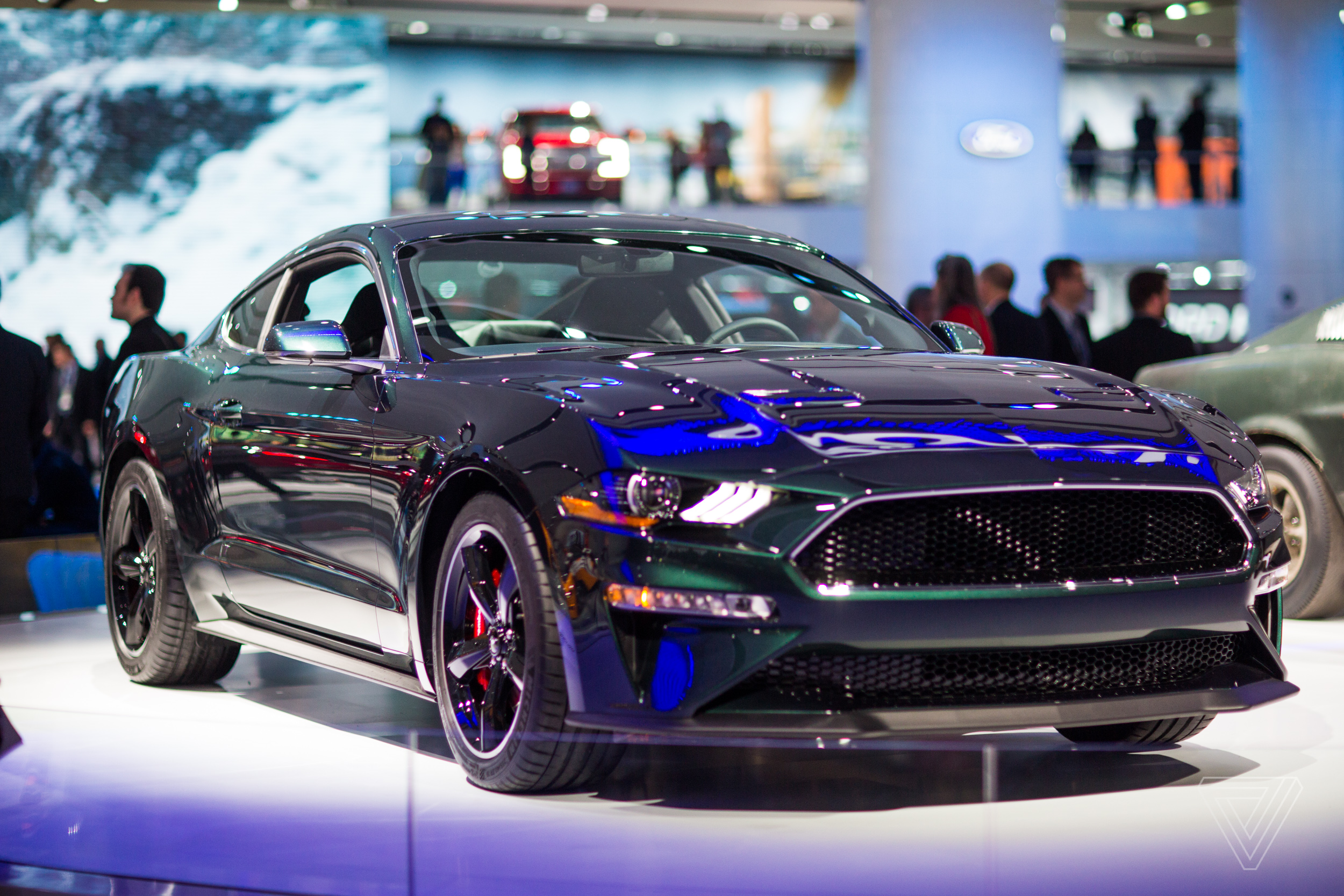 the return of ford mustang bullitt tugs at auto lovers heart strings the verge. Black Bedroom Furniture Sets. Home Design Ideas