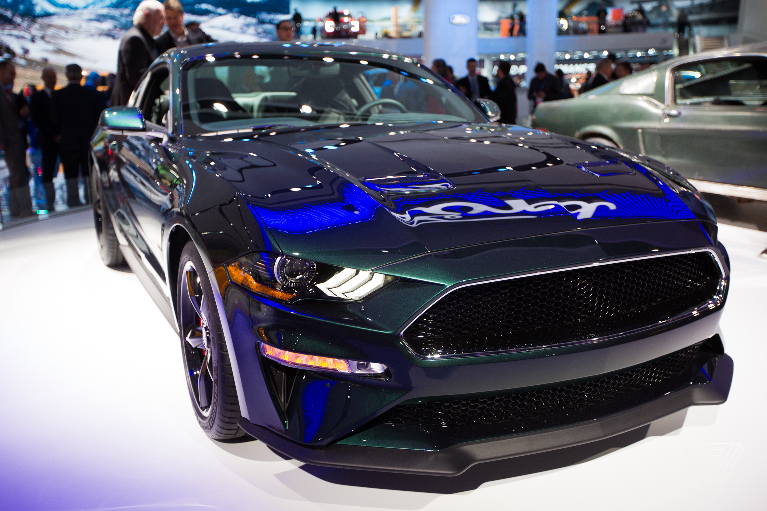 One Thing You Can Get On The New Bullitt Mustang That Highlights Its Car Tech A 12 Inch LCD Touchscreen Cant From Old Steve