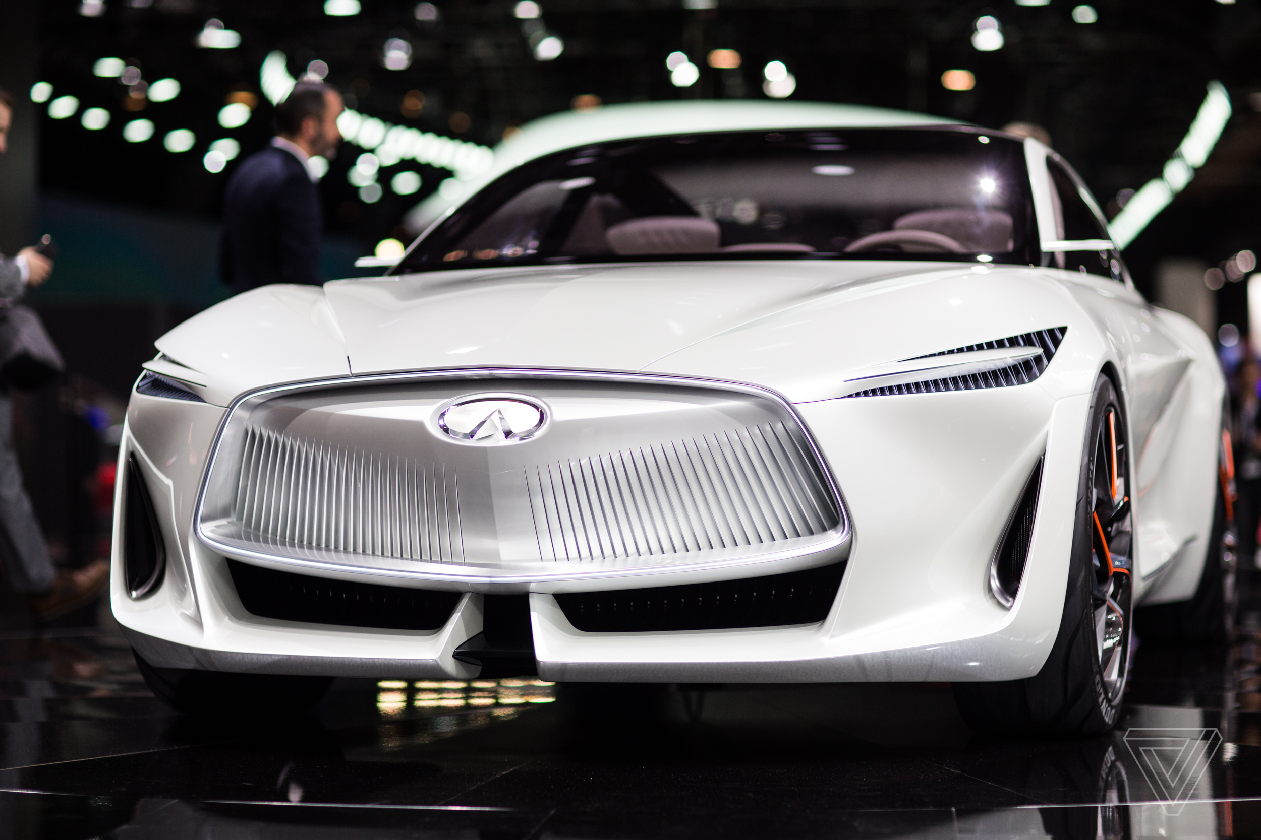 infiniti s new concept car is a land yacht for movie villains the verge. Black Bedroom Furniture Sets. Home Design Ideas