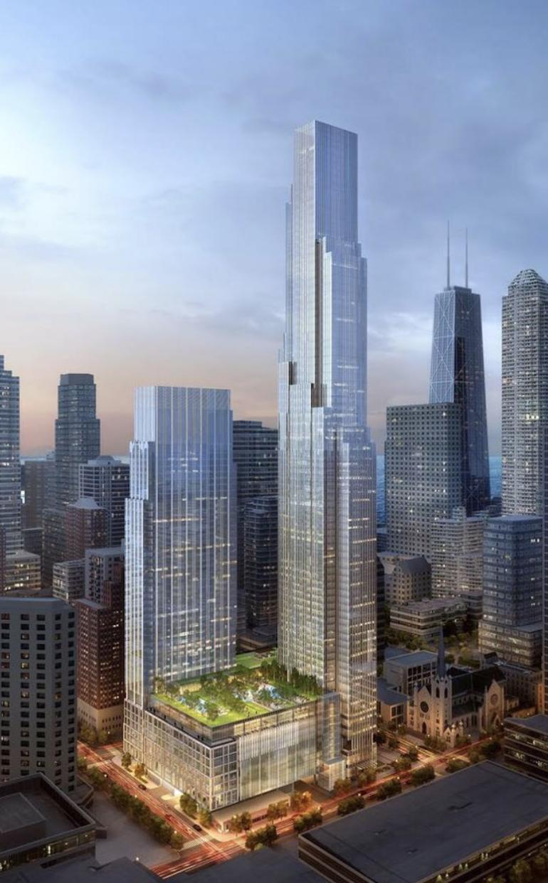 Chicago Tall Building Restaurant