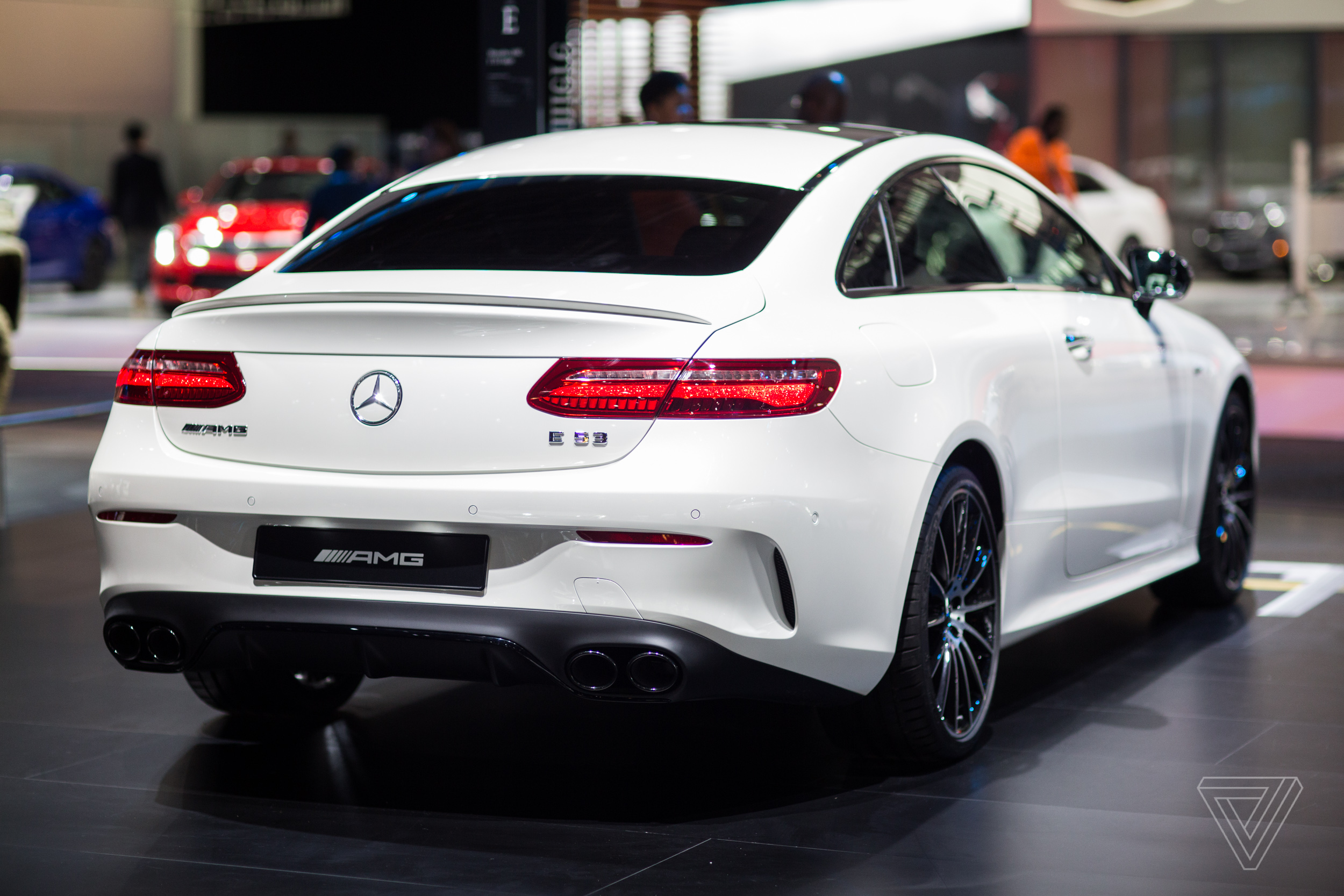 The 2018 detroit auto show in pictures the verge for Mercedes benz car show