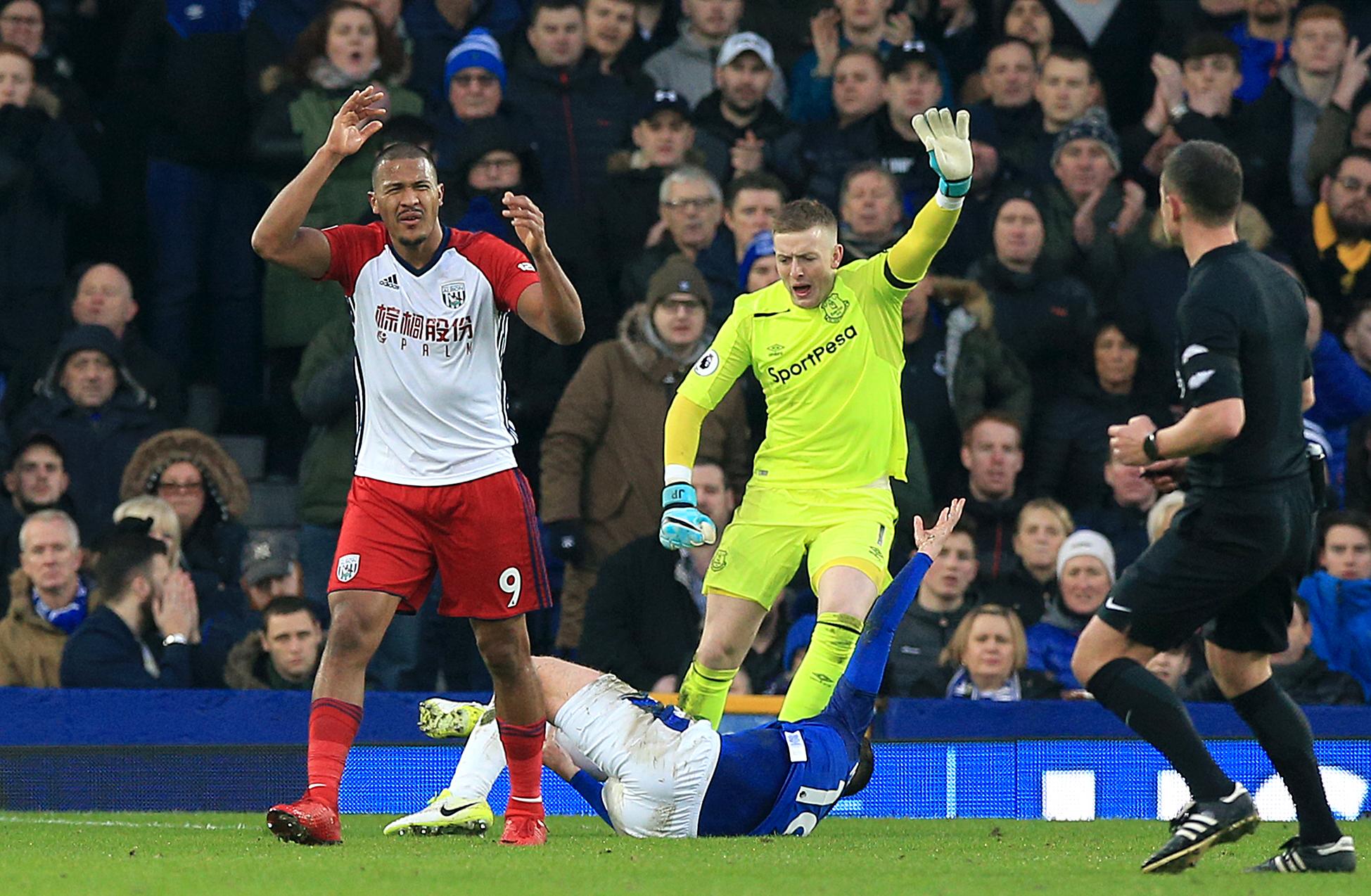 Everton v West Bromwich Albion- Premier League- Goodison Park