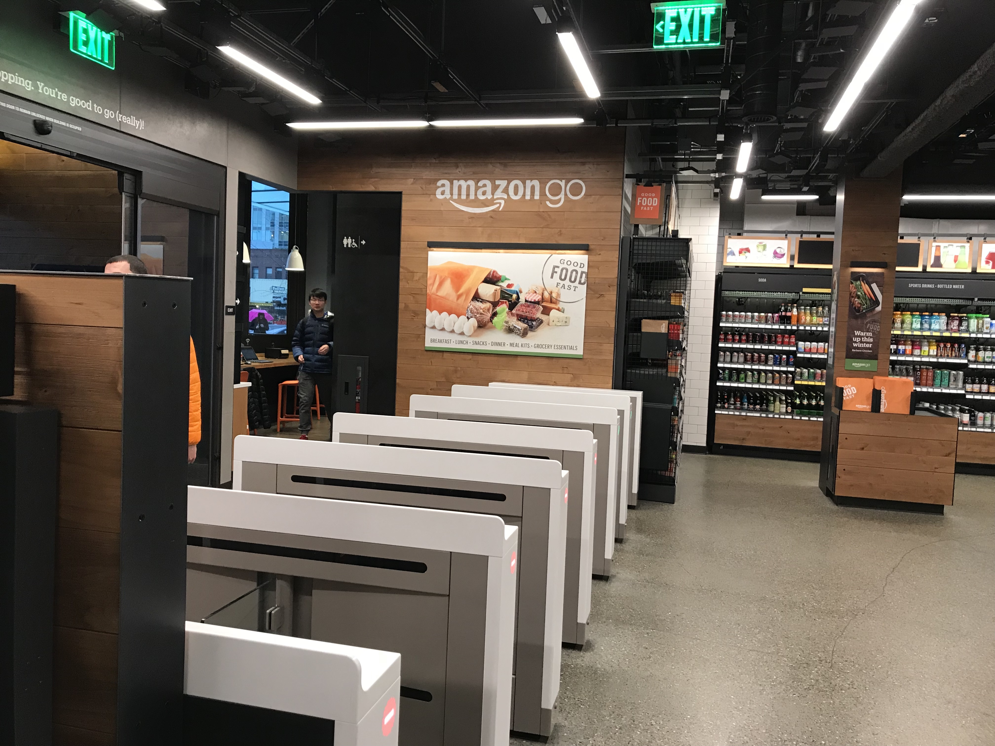 s Here s what the new Amazon Go cashier less convenience