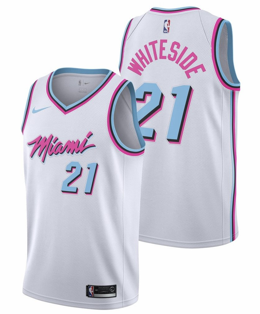 Miami Heat VICE jerseys unveiled - Hot Hot Hoops