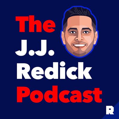 jj redick播客的标志