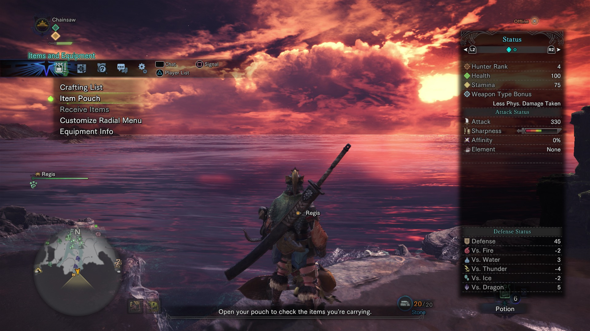 Monster Hunter: World guide to using the D-pad, the item bar and