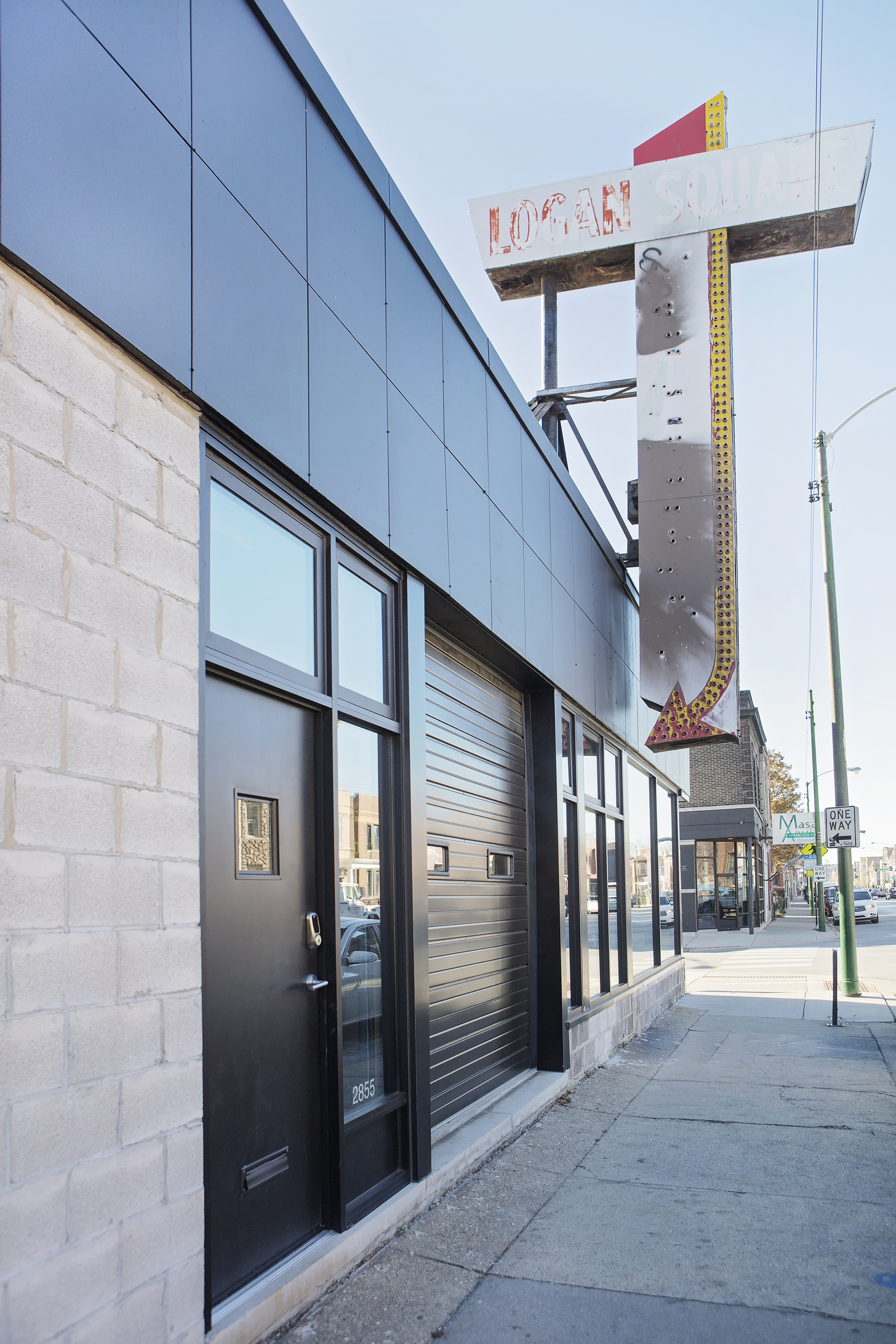 In Logan Square A Defunct Grocery Store Turned Modern Live Work Space Curbed Chicago