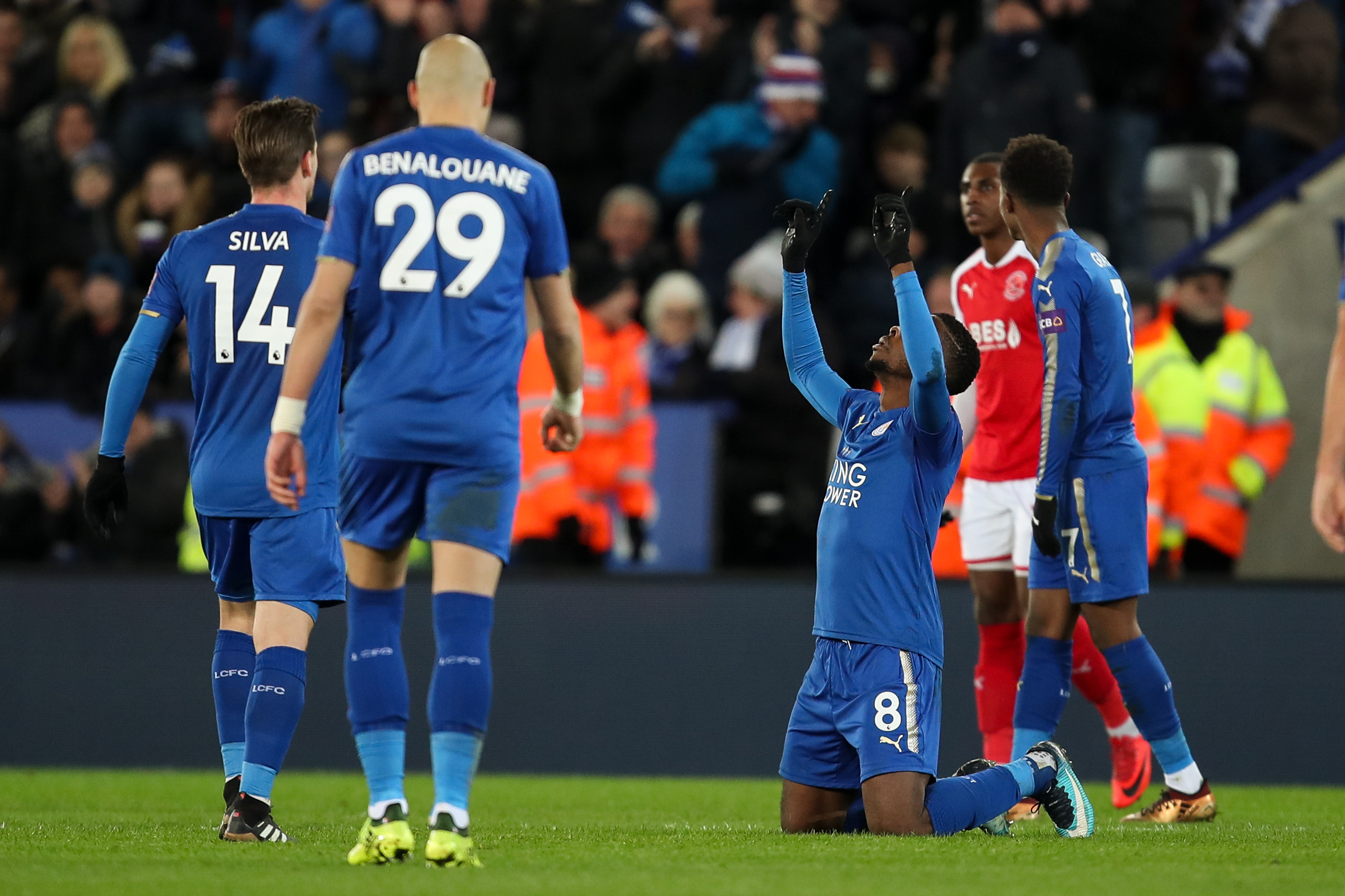 FA Cup: Iheanacho, Ndidi on song as Leicester ease into last 16