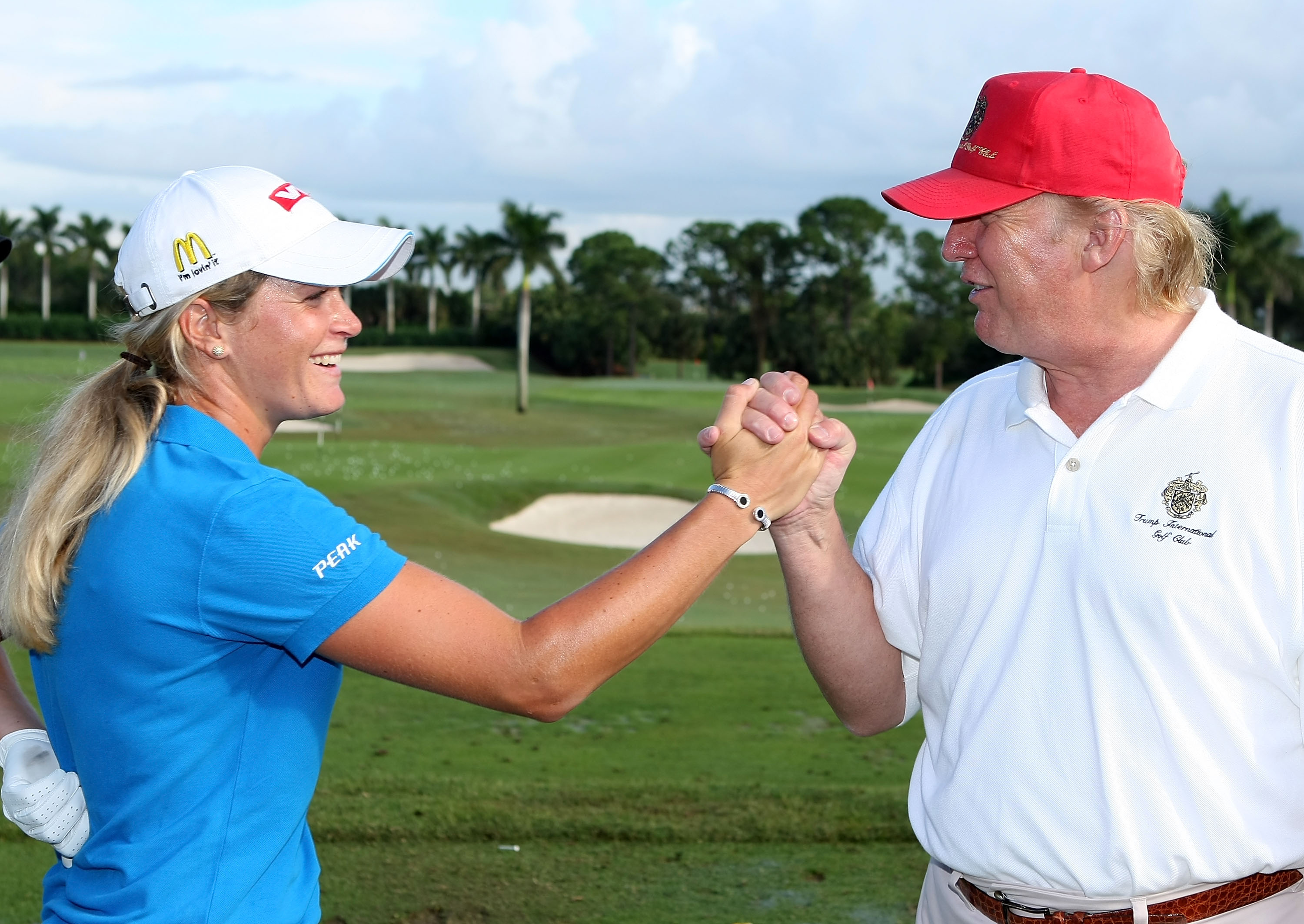 LPGA star Suzann Pettersen says Donald Trump 'cheats like hell' at golf