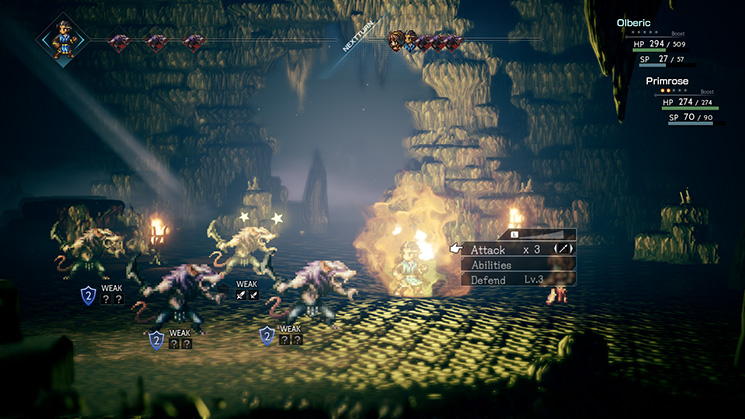 Project Octopath Traveler Feedback and Improvements