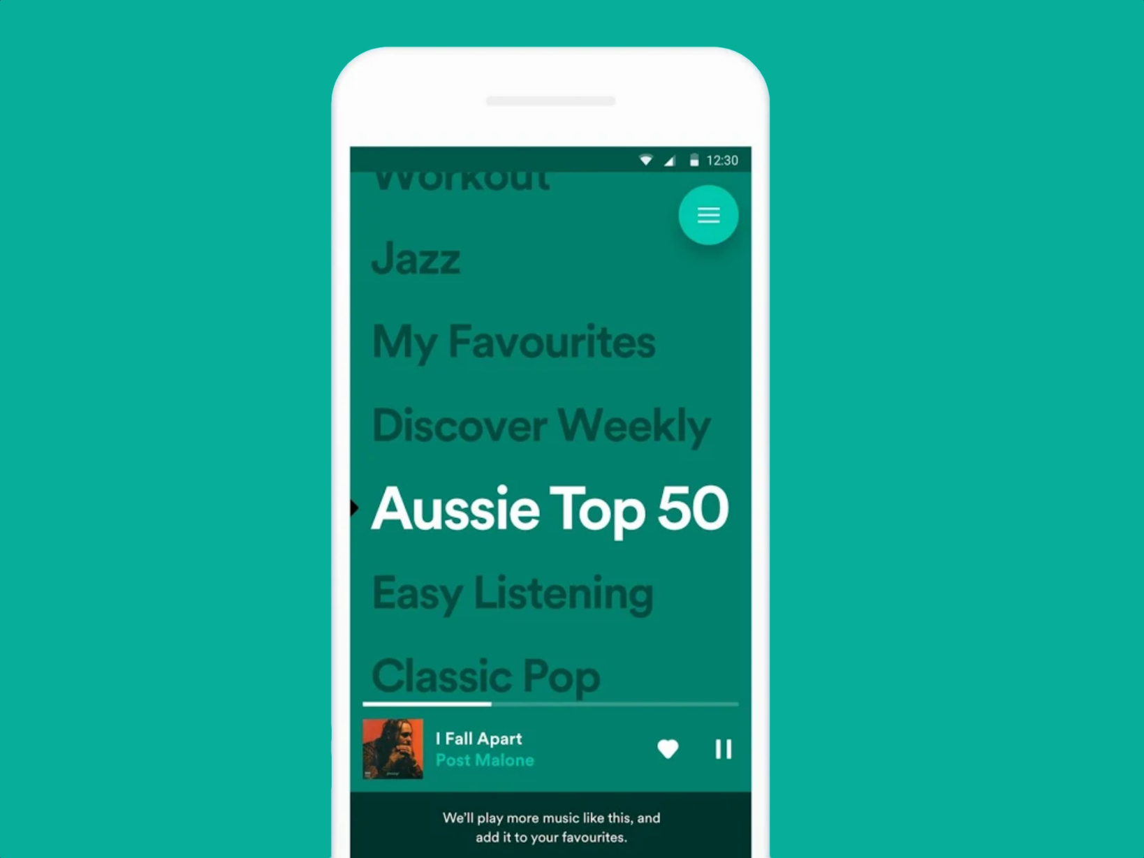 how to create a playlist using another playlist in spotify